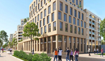 Bordeaux programme immobilier rénové « Résidence n°216138 » en loi pinel