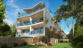 Bordeaux programme immobilier rénové « Éclat de Vert » en loi pinel