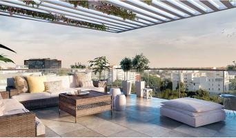 Montpellier programme immobilier neuf « Esquisse » en Loi Pinel