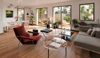 Le Bouscat programme immobilier rénové « Le Carré de Sinople » en loi pinel