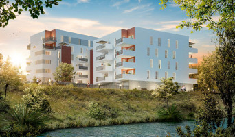 Perpignan programme immobilier neuve « Rives d'Ô » en Loi Pinel