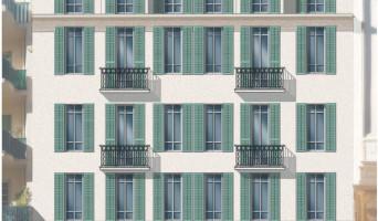 Nice programme immobilier rénové « Coeur Delille » en loi pinel