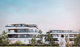 Gaillard programme immobilier neuve « Le Caudalia » en Loi Pinel