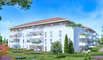 Marseille programme immobilier neuf « Les Jardins Gombert » en Loi Pinel