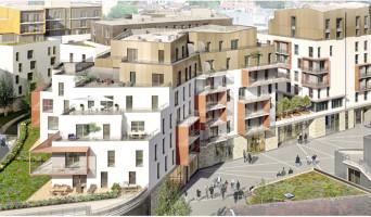 Dijon programme immobilier rénové « AuthentiCité » en loi pinel