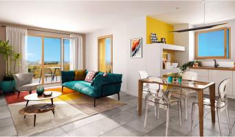 Vénissieux programme immobilier neuve « Le Quartz »  (2)
