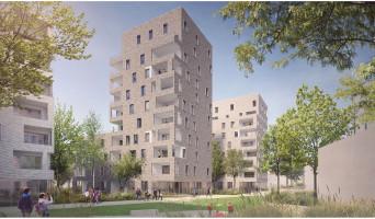 Villeurbanne programme immobilier rénové « N.O.U : Nouvel Opus Urbain » en loi pinel