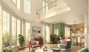Saint-Ouen-sur-Seine programme immobilier neuve « Rue Pablo Picasso - Bât. D »  (2)