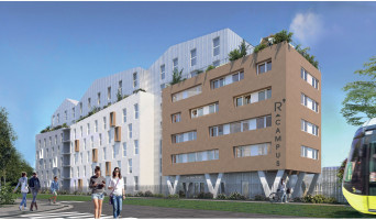 Brest programme immobilier neuf « R'Campus »