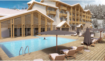 Vars programme immobilier neuf « L'Alpe Blanche »