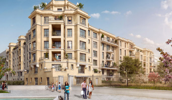 Clamart programme immobilier rénové « Carré d'Eden » en loi pinel