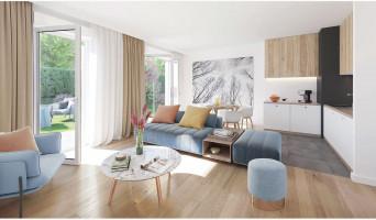 Fontainebleau programme immobilier neuve « Les Jardins de Marie »  (2)