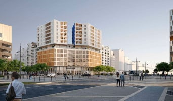 Montpellier programme immobilier rénové « Prism » en loi pinel
