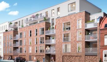 Roubaix programme immobilier neuve « Pixel » en Loi Pinel
