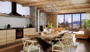 Combloux programme immobilier neuve « Premières Loges »  (3)