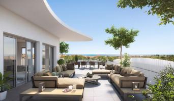 Sérignan programme immobilier rénové « Le Parc des Cyclades  - TR 1 » en loi pinel