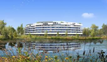 Canet-en-Roussillon programme immobilier rénové « Bleu Odyssée Bât A » en loi pinel