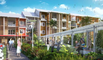 Sainte-Marie programme immobilier neuve « Les Senioriales de Sainte-Marie La Réunion »