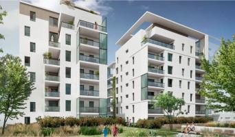 Lyon programme immobilier rénové « Écrin II Lumière » en loi pinel