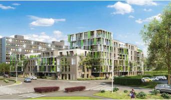 Villeneuve-d'Ascq programme immobilier rénové « Résidence du Croisé d'Ascq - Bât B » en loi pinel