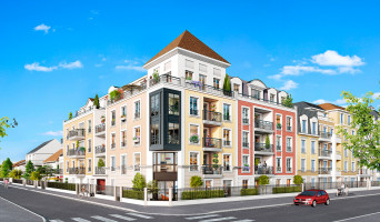 Le Blanc-Mesnil programme immobilier rénové « Villa Delley » en loi pinel
