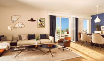 Villeurbanne programme immobilier neuve « L'Îlot Charmes » en Loi Pinel  (3)
