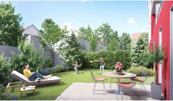 Neuilly-sur-Marne programme immobilier rénové « Côté Jardin » en loi pinel