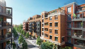 Saint-Ouen-sur-Seine programme immobilier neuve « L'Atelier - Upside » en Loi Pinel  (2)