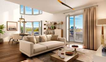 Saint-Ouen-sur-Seine programme immobilier neuve « L'Atelier - Upside » en Loi Pinel  (4)