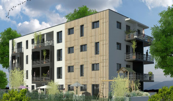 Nîmes programme immobilier neuve « Ginkgo »  (2)