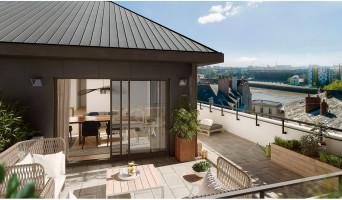 Nantes programme immobilier rénové « Atelier Cambronne » en loi pinel