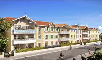 Arcachon programme immobilier rénové « La Belle Saison » en loi pinel