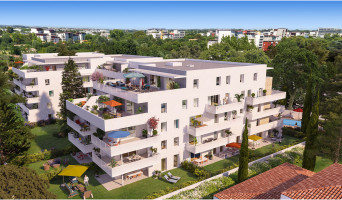 Montpellier programme immobilier neuve « Domaine d'Antonin » en Loi Pinel  (2)