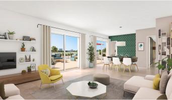 Montpellier programme immobilier neuve « Domaine d'Antonin » en Loi Pinel  (4)
