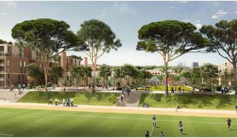 Toulouse programme immobilier rénové « New District » en loi pinel