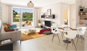Toulon programme immobilier neuve « Jardin d'Eté »  (2)