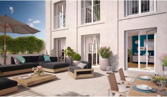 Bobigny programme immobilier neuf « Coeur de ville - Hall Plaza & Lumin