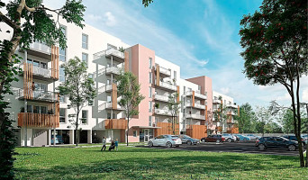 Nîmes programme immobilier neuf « L'Atrium » en Loi Pinel