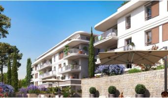 Mougins programme immobilier rénové « Jardins des Sens et Jardins en Vue » en loi pinel