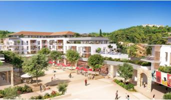 Mougins programme immobilier rénové « Cours des Arts » en loi pinel