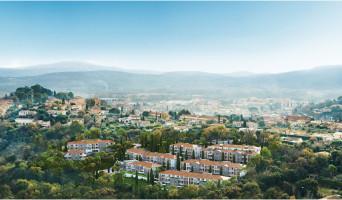 Cogolin programme immobilier rénové « Infini d'Azur » en loi pinel