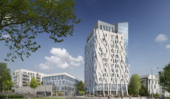 Angers programme immobilier neuf « Campus Novus »