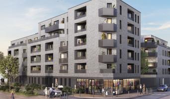 Lille programme immobilier rénové « Edenium » en loi pinel