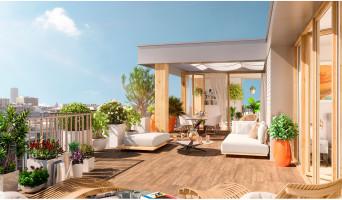 Paris programme immobilier neuf « Air du Temps »
