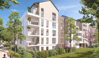 Melun programme immobilier neuf « Central Nature