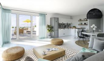 Marseille programme immobilier neuve « Euroméditerranée - Les Fabriques » en Loi Pinel  (3)