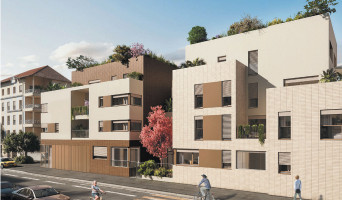 Lyon programme immobilier neuf « 3ème Art » en Loi Pinel