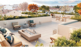 Lyon programme immobilier neuve « 3ème Art » en Loi Pinel  (2)