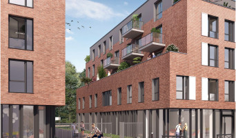 Roubaix programme immobilier neuve « Parc Vauban » en Loi Pinel  (2)