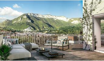 Annecy programme immobilier neuve « Grand Angle » en Loi Pinel  (2)